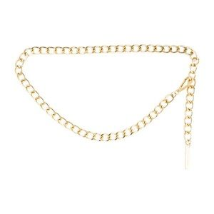 Michael Kors Gold Chain Link Belt